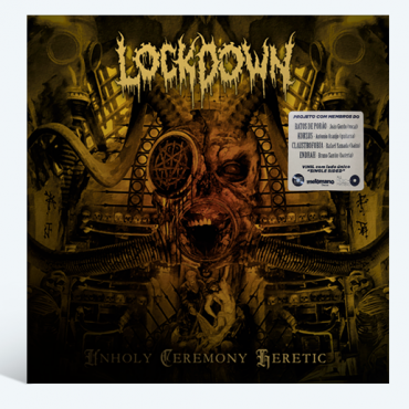 Lockdown - Unholy Ceremony Heretic - Lp - 2021 Neves Records