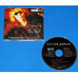 Bon Jovi - Hey God - Cd Single - UK - 1996 - Edição limitada