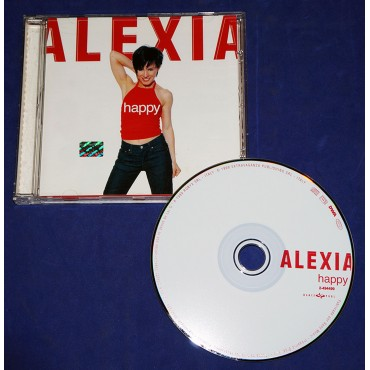 Alexia - Happy - Cd - 1999 - Promocional