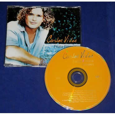 Carlos Vives - Fruta Fresca Remixes - Cd Single - 1999 - Promocional