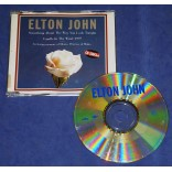Elton John - Something About The Way You Look Tonight - Cd Single - 1997