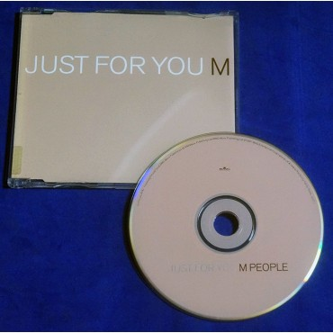 M People - Just For You - Cd Single - 1997 - UK - Promocional