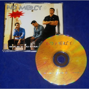 No Mercy - Baby Come Back - Cd Single - 1998 - Promocional