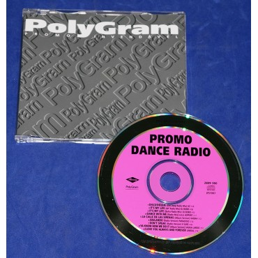Promo Dance Radio - Cd Single - 1997 - Promocional - U2