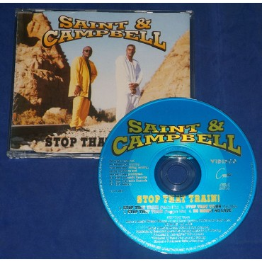 Saint & Campbell - Stop That Train! - Cd Maxi Single - 1995 - Portugal