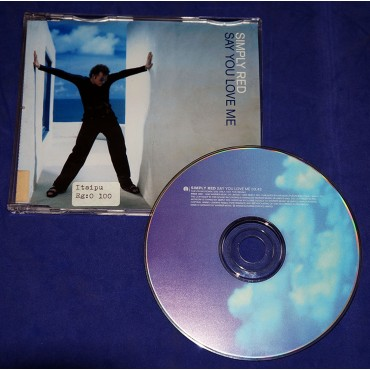 Simply Red - Say You Love Me - Cd Single - 1998 - Alemanha - Promocional