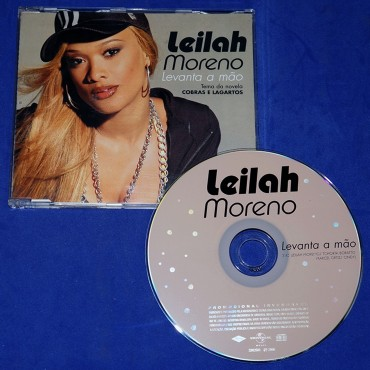 Leilah Moreno - Levanta a Mão - Cd Single - 2006 - Promocional