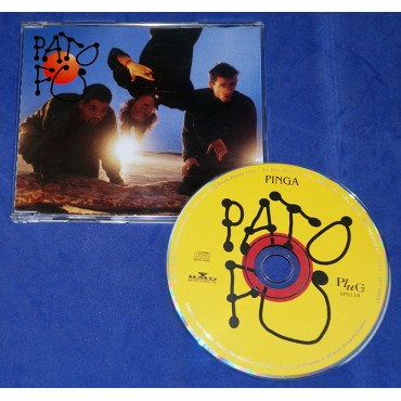 Pato Fu - Pinga - Cd Single - 1996 - Promocional