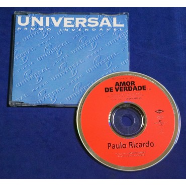 Paulo Ricardo - Amor de Verdade - Cd Single - 1999 - Promocional