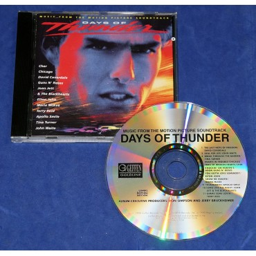 Days Of Thunder - Trilha Sonora do Filme - Cd 1990 USA Joan Jett