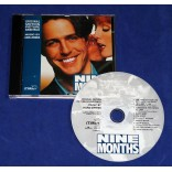 Nine Months - Trilha Sonora do Filme - Cd 1995 USA Nove Meses