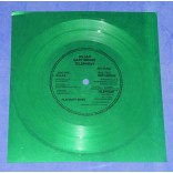 "Gillan, Gary Moore & Telephone - Purple Sky - Flexi-Disc 7"" Verde - 1981 - UK"