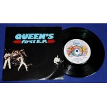 "Queen - First EP - 7"" EP - 1977 - UK"