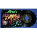 "Poison - Nothin' But A Good Time - 7"" Single - 1988 - USA"
