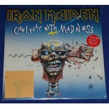 "Iron Maiden - Can I Play With Madness - 7"" Single + Transfer - 1988 - UK - Lacrado"