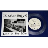 "Zero Boys - Livin' In The 80's - 7"" EP Clear - 2013 - USA"