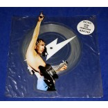 "AC/DC - Shake Your Foundations - 7"" Shape Picture Disc - 1986 - UK"