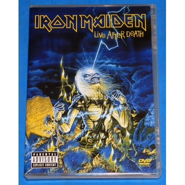 Iron Maiden - Live After Death - Dvd Duplo - 2008 - USA