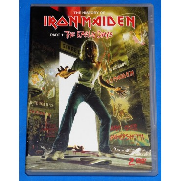 Iron Maiden - The History Of Iron Maiden 1 - Dvd Duplo - 2004 - Brasil