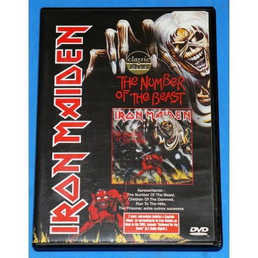 Iron Maiden - The Number Of The Beast - Dvd - 2001 - Brasil