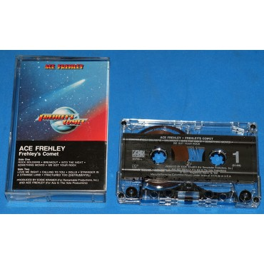 Ace Frehley - Frehley's Comet - Fita K7 - 1987 - USA Kiss