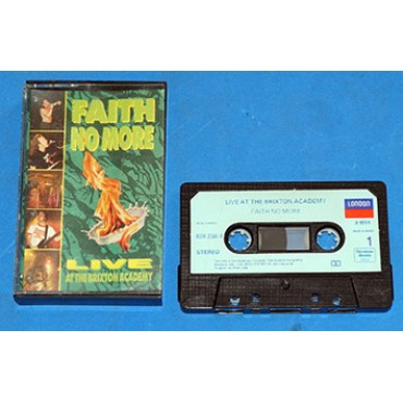 Faith No More - Live At The Brixton Academy - Fita K7 - 1991