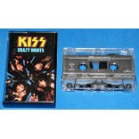 Kiss - Crazy Nights - Fita K7 - 1987 - USA
