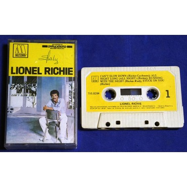 Lionel Richie - Can't  Slow Down - Fita K7 - 1983