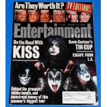 Kiss - Entertainment Weekly - Revista - USA - 1996 - Kiss