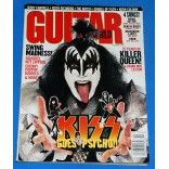Kiss - Guitar World - Kiss Goes Psycho - Revista - USA - 1998