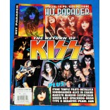Kiss - Hit Parader nº 383 - Revista - USA - 1996 Holograma