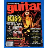 Kiss - Guitar School July 1992 - Tribute To Kiss - Revista - USA - 1992