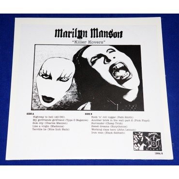 Marilyn Manson - Killer Kovers - Lp - 2005 - USA - Lacrado