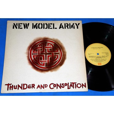 New Model Army - Thunder And Consolation - Lp - 1989