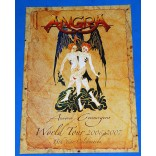 Angra - Aurora Consurgens World Tour - 2006/2007 - Tourbook - USA