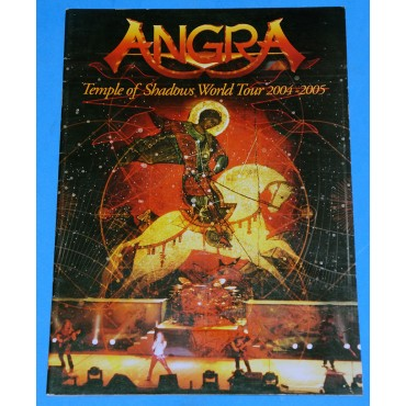 Angra - Temple Of Shadows Word Tour - 2004/2005 - Tourbook - USA