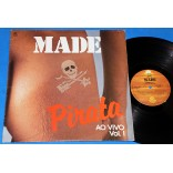 Made in Brazil - Pirata Ao Vivo Vol. 1 - Lp - 1986