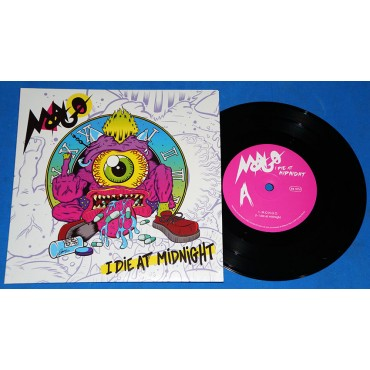 "Mongo - I Die At Midnight - 7"" Compacto - 2018 - Lacrado"