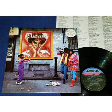 Aretha Franklin - Who's Zoomin' Who? - Lp Promocional - 1985