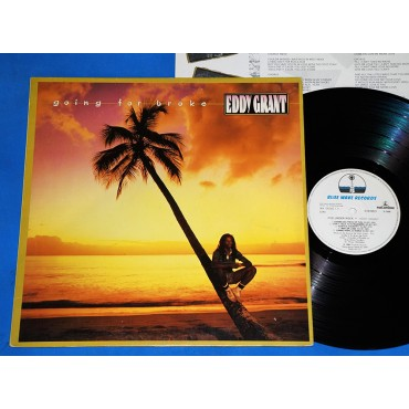 Eddy Grant - Going For Broke - Lp - 1984 - Brasil