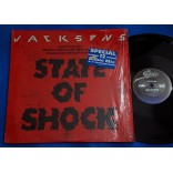 Jacksons - State Of Shock - Lp - 1984 - USA