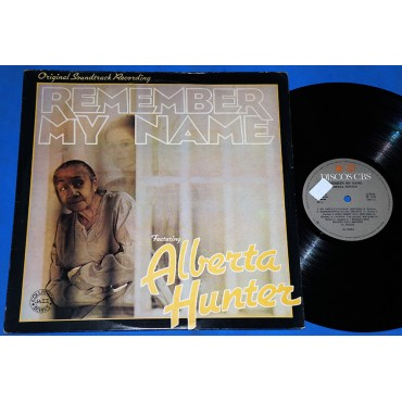 Alberta Hunter - Remember My Name - Lp - 1978 - Brasil