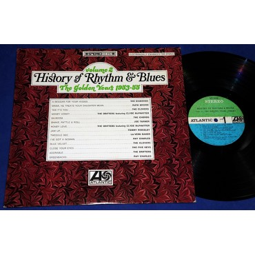 History Of Rhythm & Blues - Vol 2 The Golden Years (1953-55) - Lp - 1968 - USA - The Chords The Drifters Ray Charles