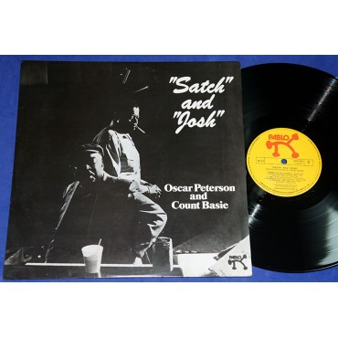 Oscar Peterson & Count Basie - Satch And Josh - Lp - 1977