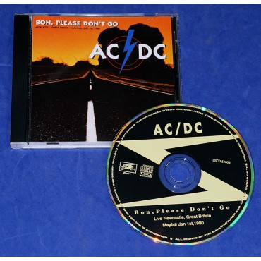 AC/DC - Bon, Please Don't Go - Cd - 1994 - Itália