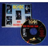 AC/DC - High Voltage Tour - Cd - 1994 - Itália