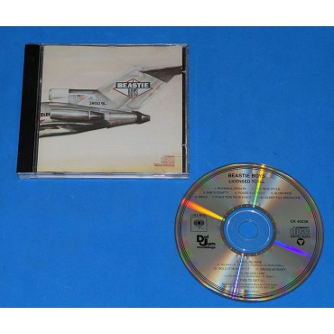Beastie Boys - Licensed To Ill - Cd - USA - 1986