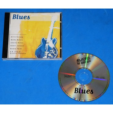 Blues - Melhores do Seculo Cd - Sony BB King Muddy Waters Robert Johnson