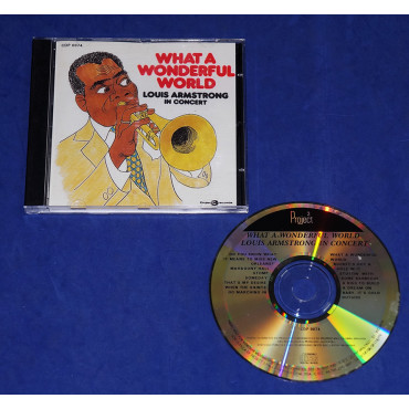 Louis Armstrong - What A Wonderful Word - Cd