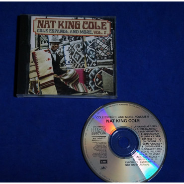 Nat King Cole - Cole Español And More, Vol.2 - Cd - 1988